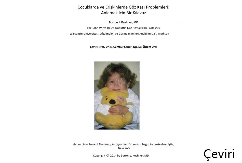 Çeviri: Prof. Dr. E. Cumhur Şener